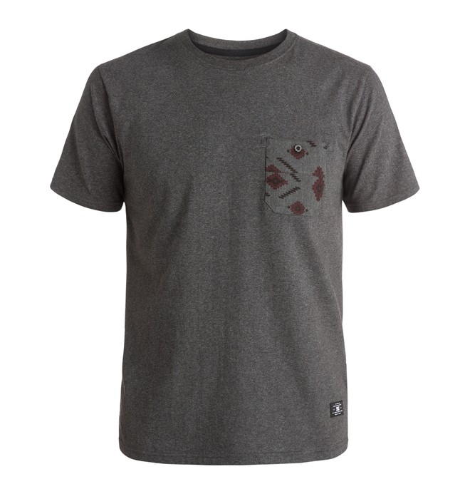 0 Men's Lubbock Pocket Tee  EDYKT03273 DC Shoes