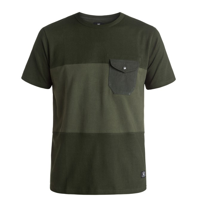0 Men's Rockcliff Pocket Tee  EDYKT03274 DC Shoes