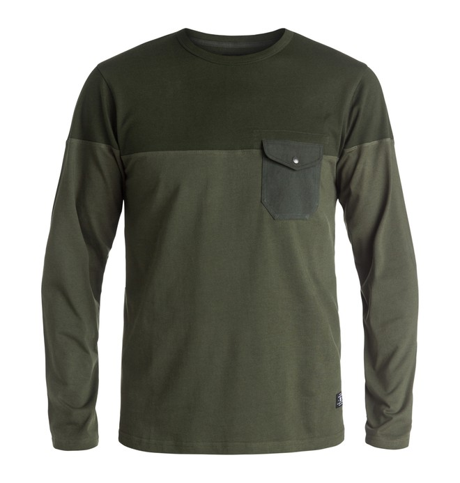 0 Men's Rockcliff Long Sleeve Tee  EDYKT03275 DC Shoes