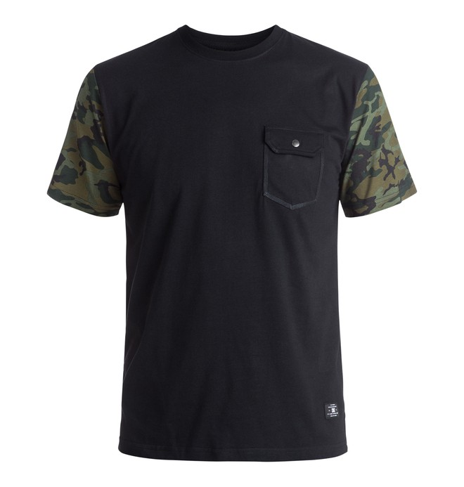0 Men's Friedley Pocket Tee  EDYKT03301 DC Shoes