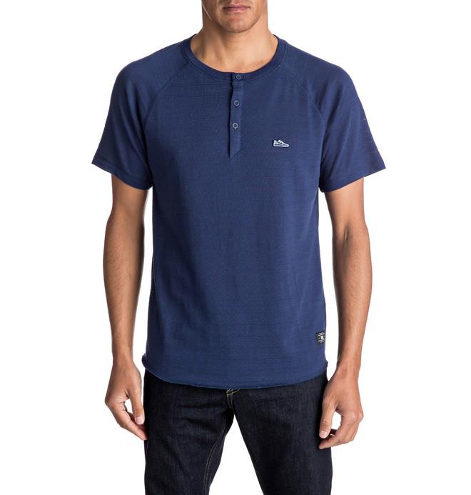 0 Derry Stokes Raglan - T-shirt col boutonné  EDYKT03335 DC Shoes