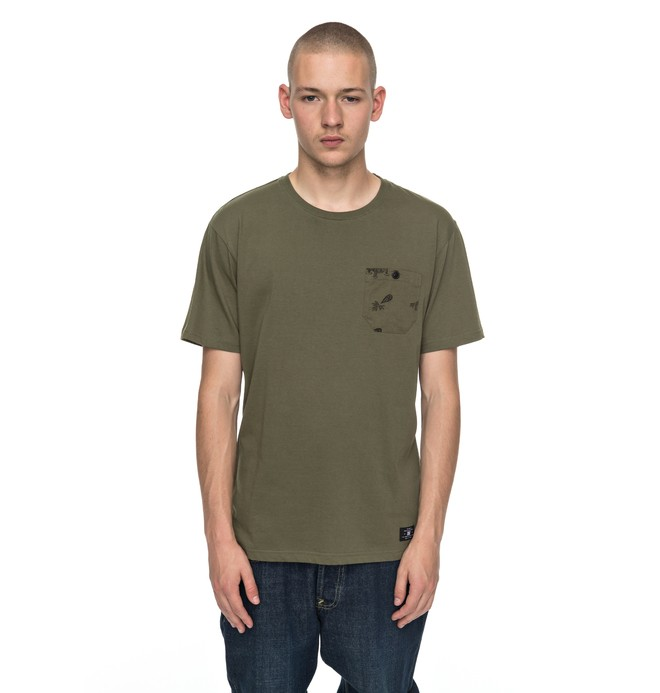 0 Waterglen - T-Shirt for Men  EDYKT03346 DC Shoes