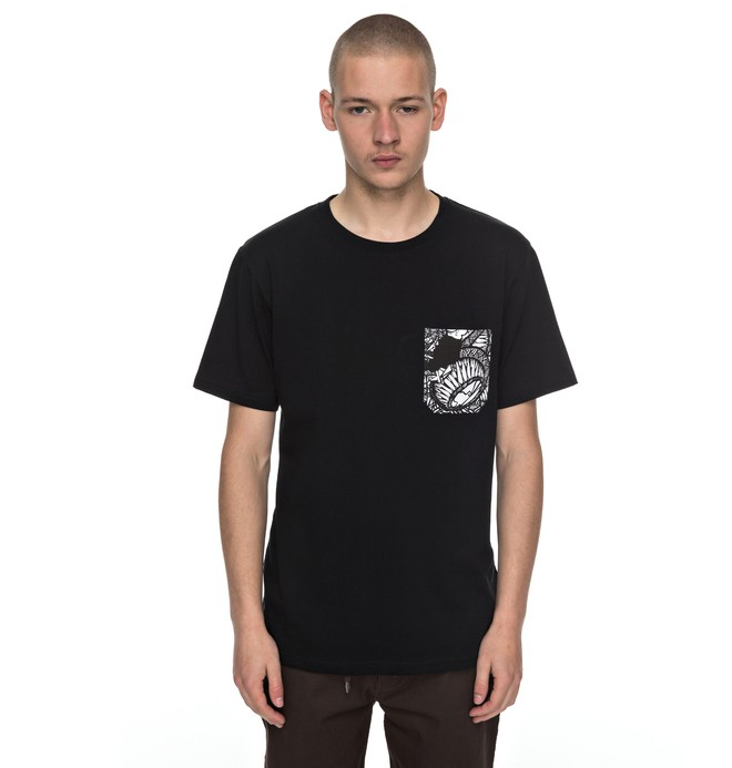 0 Men's Darbotz Pocket Tee  EDYKT03355 DC Shoes