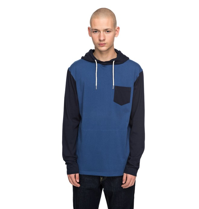 0 Rellin Long Sleeve Hooded Tee  EDYKT03357 DC Shoes