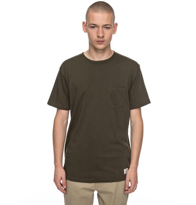 0 Basic - Pocket T-Shirt Brown EDYKT03360 DC Shoes