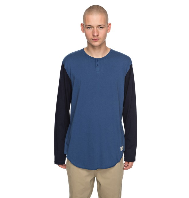 0 BASIC LONG SLEEVES 2 Azul EDYKT03363 DC Shoes