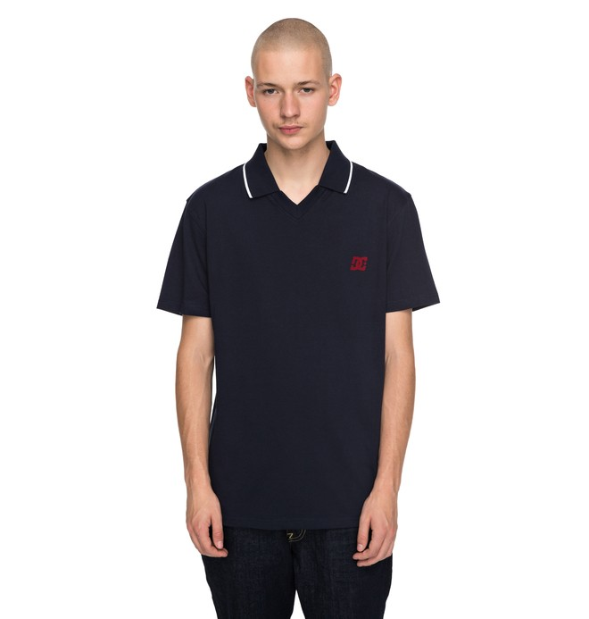 0 Men's 94 Wauteck Polo Shirt  EDYKT03370 DC Shoes