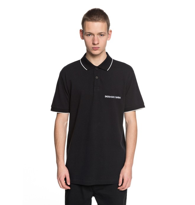 0 Lakebay - Polo Shirt for Men Black EDYKT03374 DC Shoes