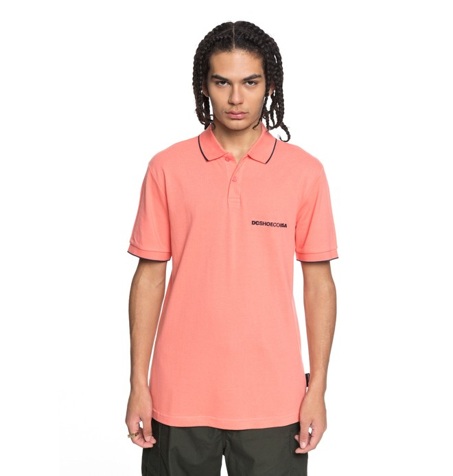 0 Lakebay Polo Shirt Pink EDYKT03374 DC Shoes