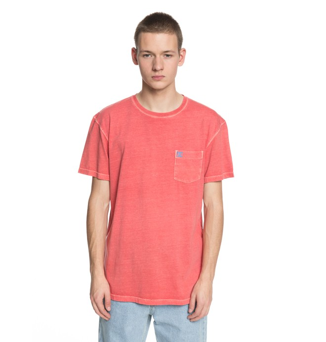 0 Dyed Tee Pink EDYKT03375 DC Shoes