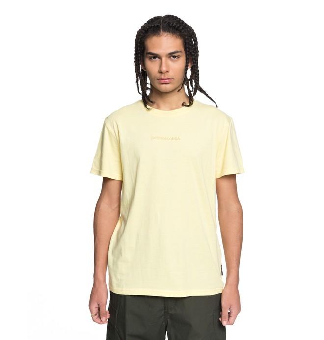 0 Men's Craigburn Tee Yellow EDYKT03376 DC Shoes