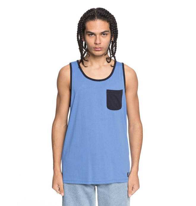 0 Contra 2 Tank Blue EDYKT03377 DC Shoes