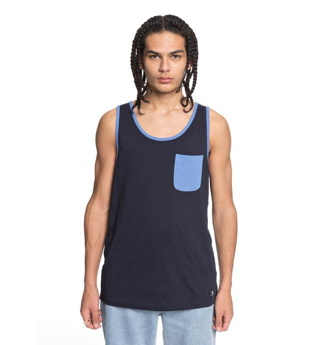 0 Men's Contra 2 Tank Blue EDYKT03377 DC Shoes