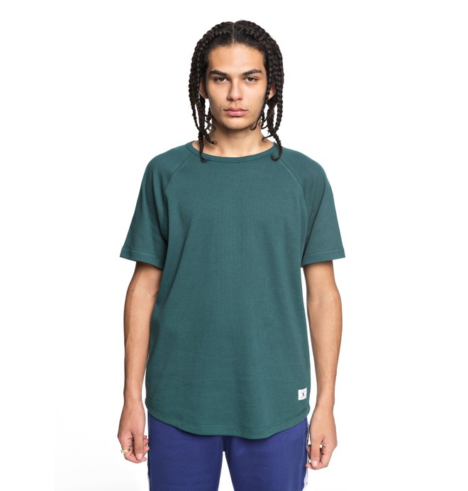 0 Renfrew Tee Green EDYKT03390 DC Shoes