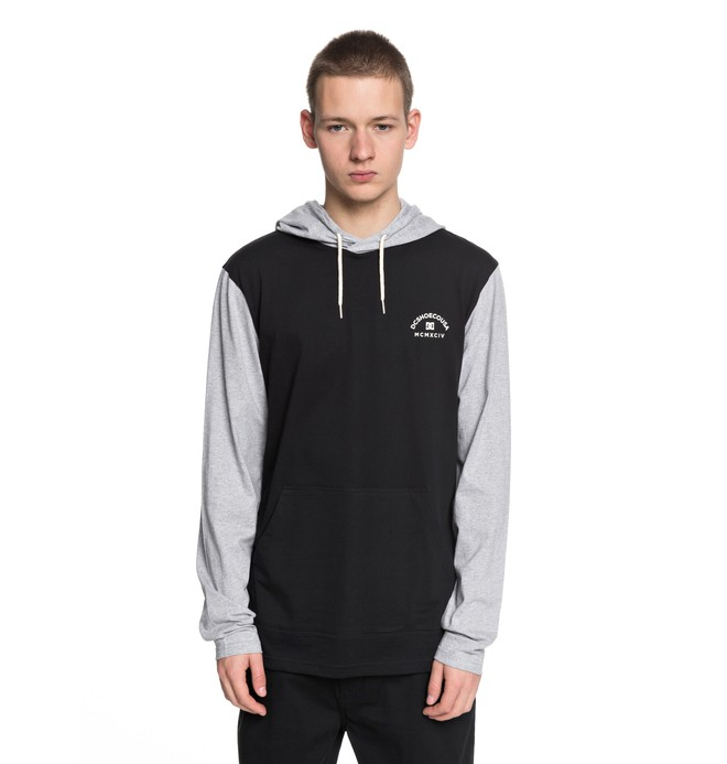 0 Rellin 2 Hooded Long Sleeve Tee  EDYKT03391 DC Shoes