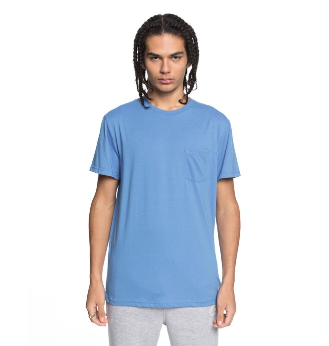 0 Basic - Pocket T-Shirt Blue EDYKT03394 DC Shoes
