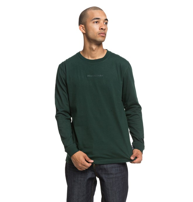 0 Craigburn - Longsleeve T-Shirt voor Heren Green EDYKT03412 DC Shoes
