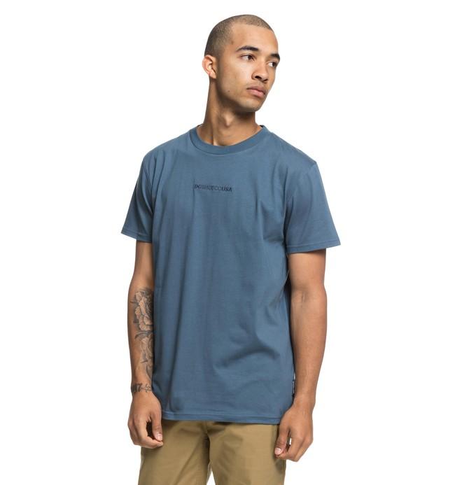 0 Craigburn - T-shirt col rond pour Homme Bleu EDYKT03413 DC Shoes