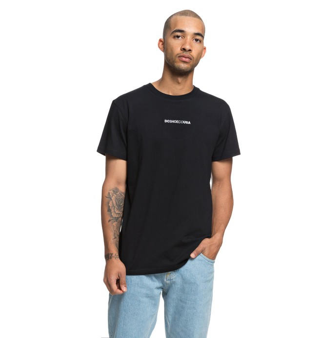 0 Craigburn Tee Black EDYKT03413 DC Shoes