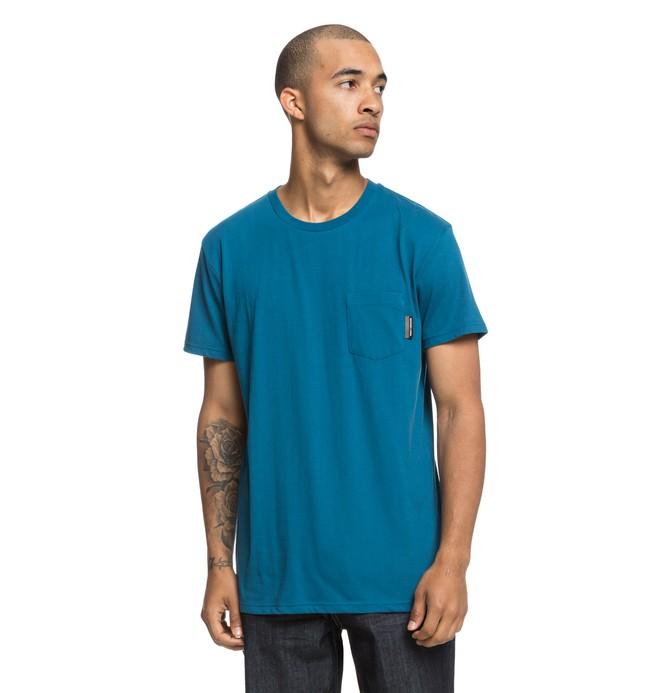 0 Basic - T-shirt avec poche pour Homme Bleu EDYKT03415 DC Shoes