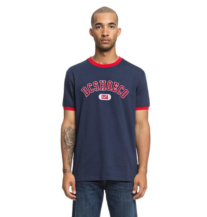0 Glenridge - T-Shirt voor Heren Blue EDYKT03420 DC Shoes