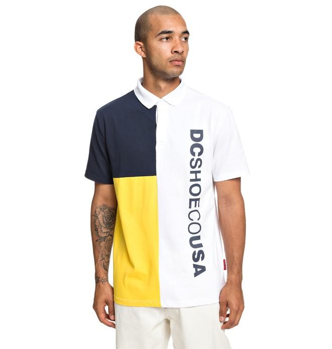 0 Mawson Short Sleeve Polo Shirt White EDYKT03447 DC Shoes