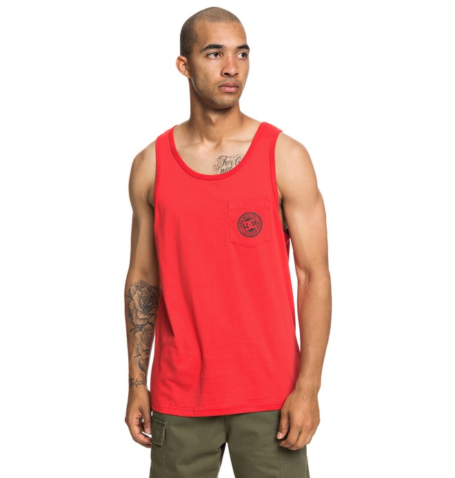 0 Pocket Tank Red EDYKT03453 DC Shoes