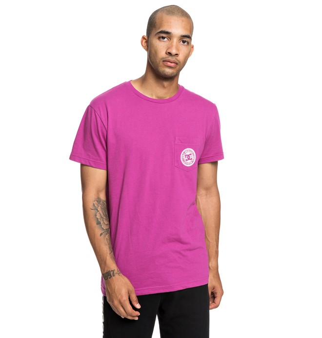 0 Basic - T-shirt pour Homme Rose EDYKT03458 DC Shoes