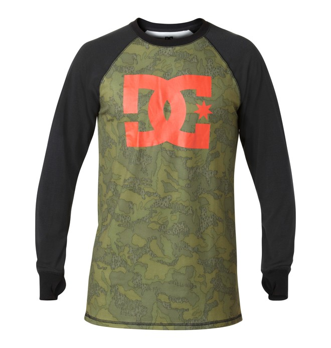 0 Men's Dingy Base Layer Shirt  EDYLW00007 DC Shoes