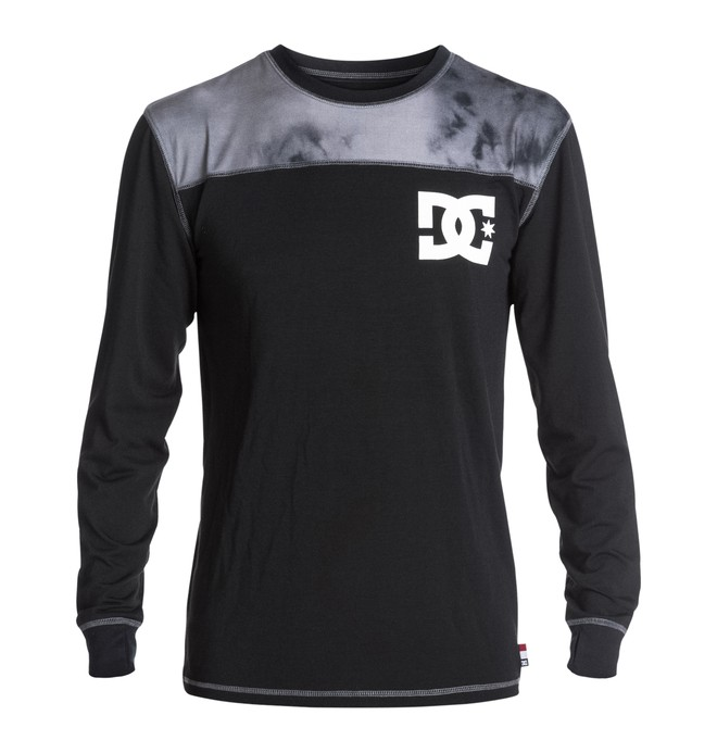 0 Men's DC Top Half Long Sleeve Base-Layer Top  EDYLW03001 DC Shoes