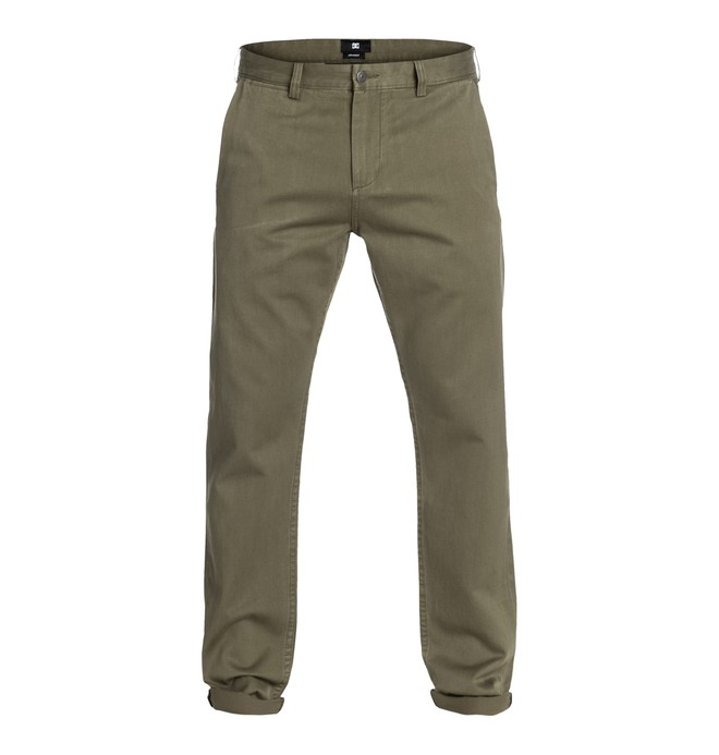 0 DC SElvedge Taper Chino 32  EDYNP03002 DC Shoes