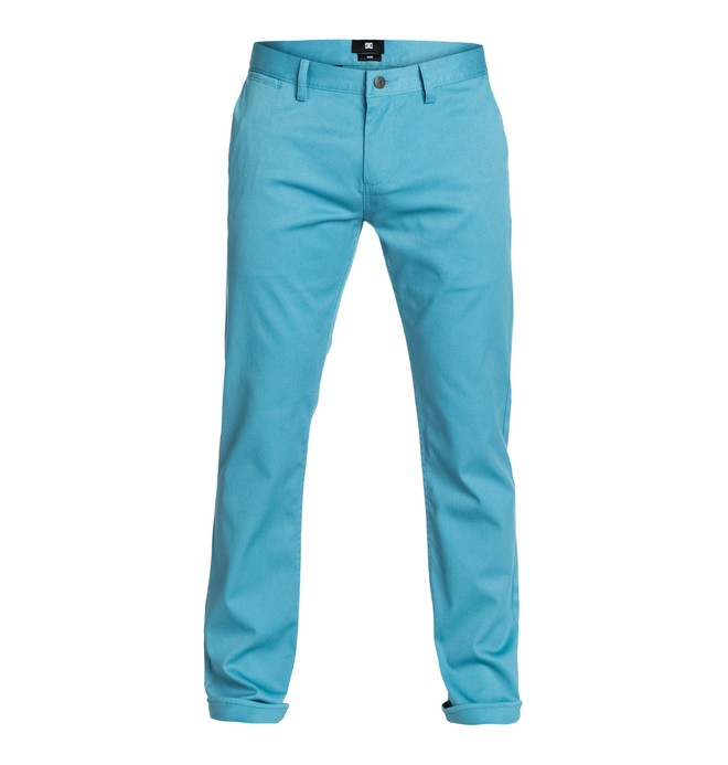 "0 DC Worker Slim 32"" Inseam   Pants  EDYNP03005 DC Shoes"