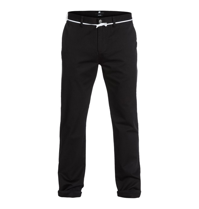 "0 DC Rigid Worker Straight 34"" Inseam  Pants  EDYNP03014 DC Shoes"