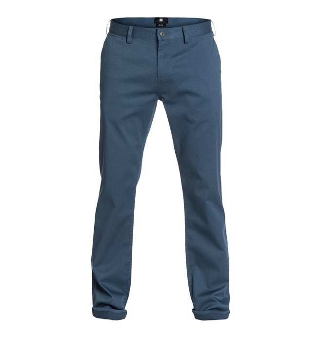 "0 DC Worker Straight 34"" Inseam Pants  EDYNP03020 DC Shoes"