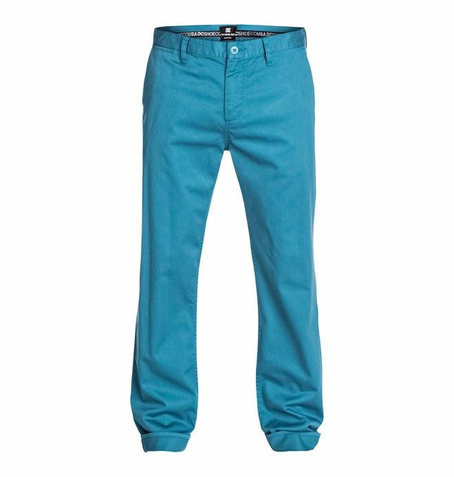"0 Men's Straight 32"" Chino Pants  EDYNP03033 DC Shoes"
