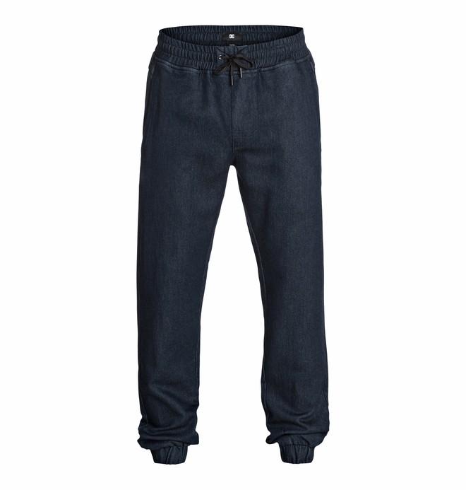 0 Men's Hem Pant Indigo Jersey Pants  EDYNP03039 DC Shoes