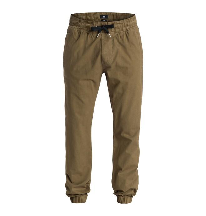 0 Men's Hem Tapered Fit Pants  EDYNP03056 DC Shoes