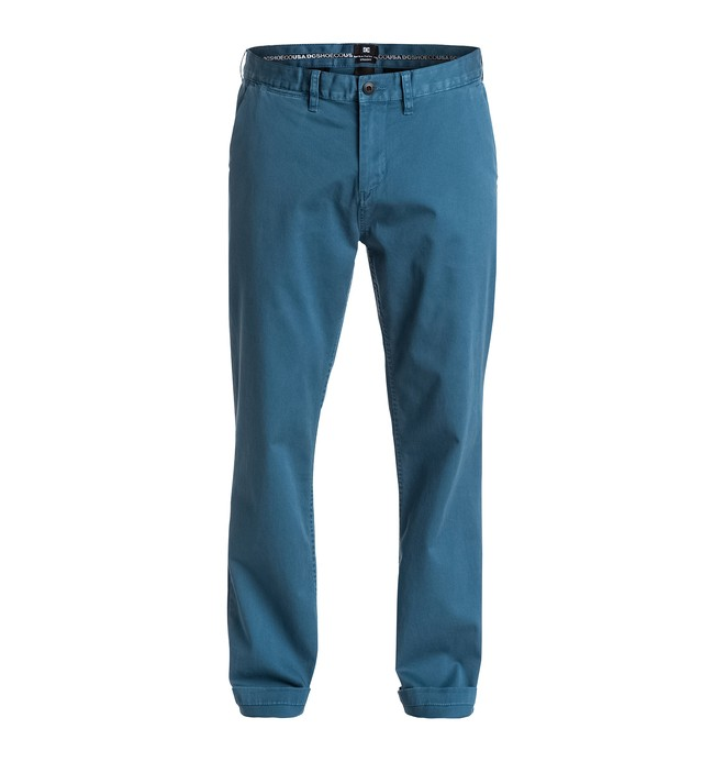 "0 Pantalones Worker Straight Fit Chino 32"" - hombre  EDYNP03075 DC Shoes"
