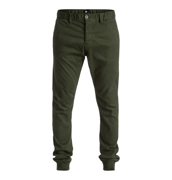 0 Men's Otterburn Twill Joggers  EDYNP03103 DC Shoes