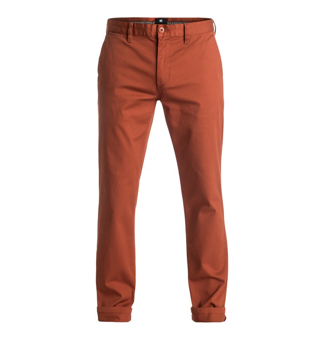 "0 Worker Slim 32"" - Chinos Brown EDYNP03105 DC Shoes"