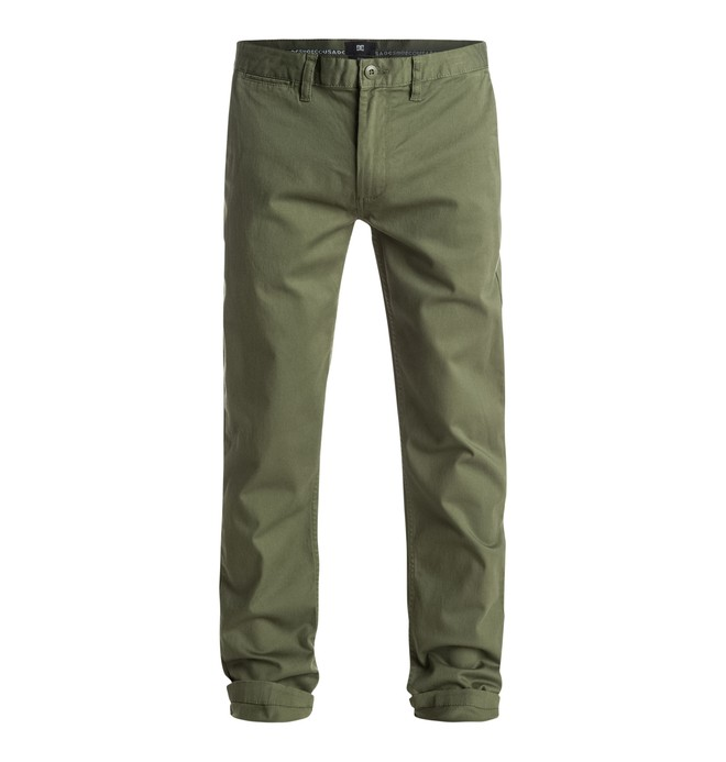 "0 Men's Worker Slim 32"" Chinos  EDYNP03105 DC Shoes"