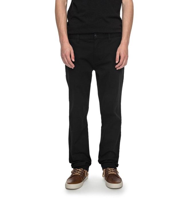 """0 Worker Slim Fit 32"""" - Chinos Negro EDYNP03105 DC Shoes"""