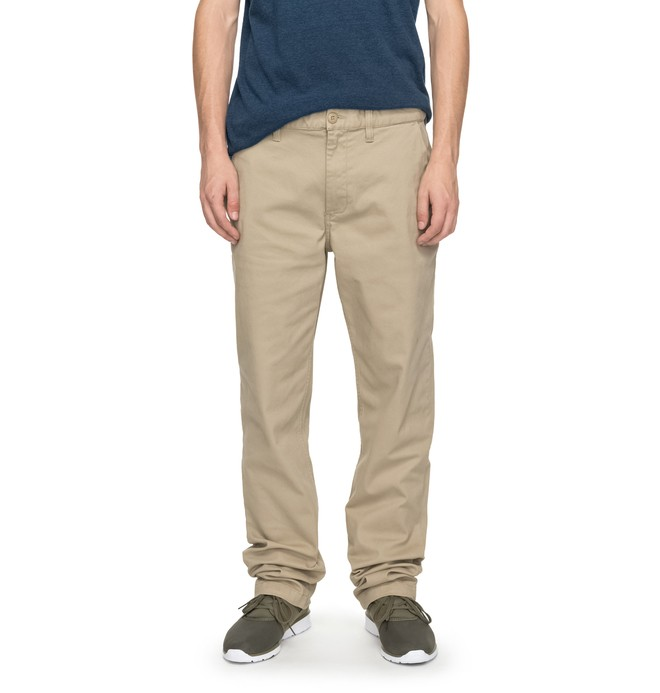 "0 Worker Straight 32"" - Pantalon chino Beige EDYNP03107 DC Shoes"