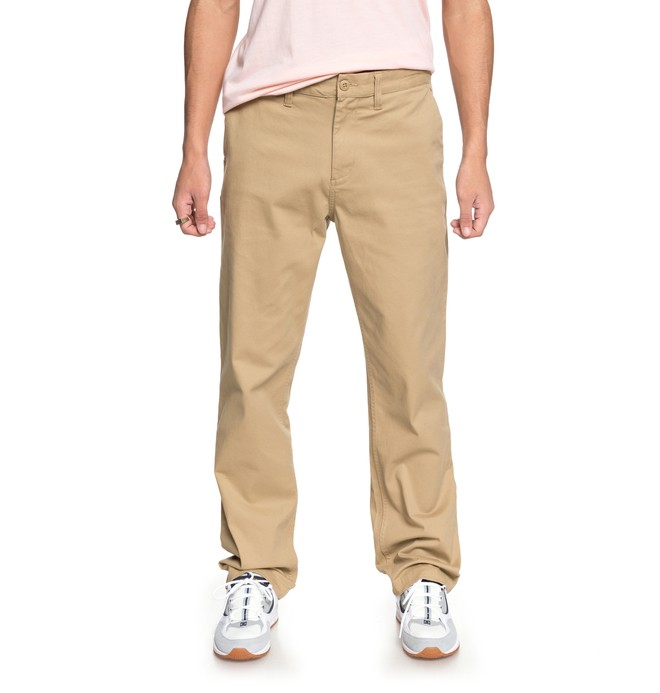 0 Men's Worker Relaxed Chinos Brown EDYNP03130 DC Shoes