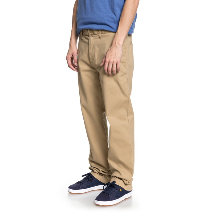 "0 Worker 32"" - Chinos Braun EDYNP03131 DC Shoes"
