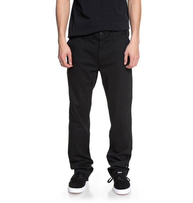 "0 Worker 32"" Chinos Black EDYNP03131 DC Shoes"