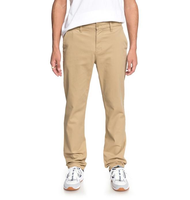 0 Worker - Pantalón Chino para Hombre Marron EDYNP03132 DC Shoes