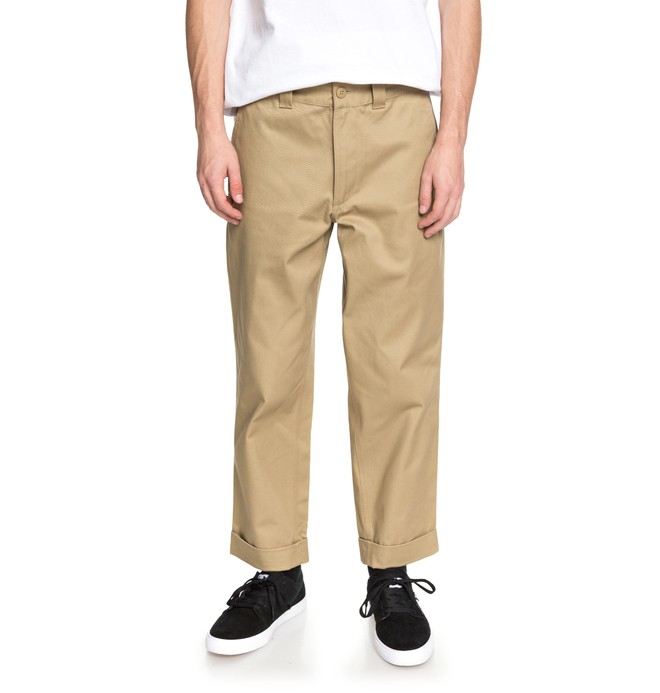 0 Rolled On Baggy Chinos  EDYNP03134 DC Shoes