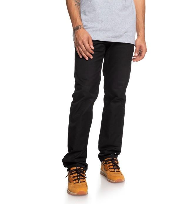 0 Worker - Vaqueros de corte recto para Hombre Negro EDYNP03136 DC Shoes