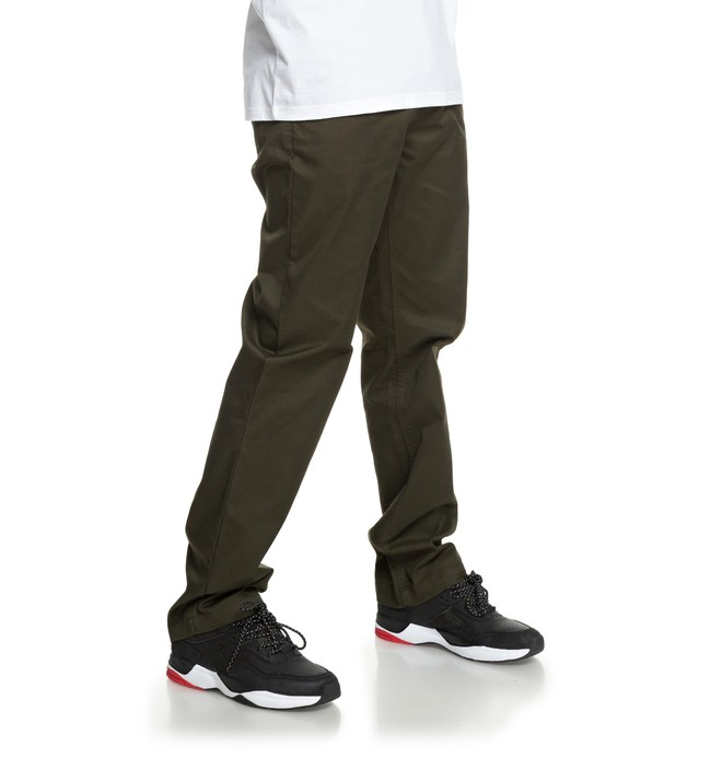 0 Worker Chinos Black EDYNP03137 DC Shoes